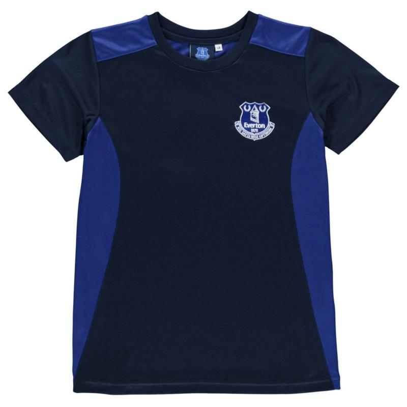 Source Lab Everton T Shirt Junior Boys Blue