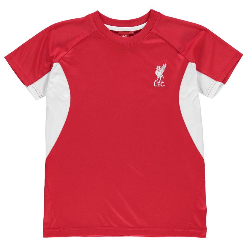 Source Lab Liverpool FC T Shirt Infant Boys Red