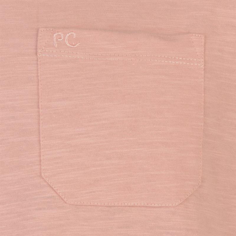 Tričko Pierre Cardin Layered Crew Neck Tshirt Mens Coral Marl