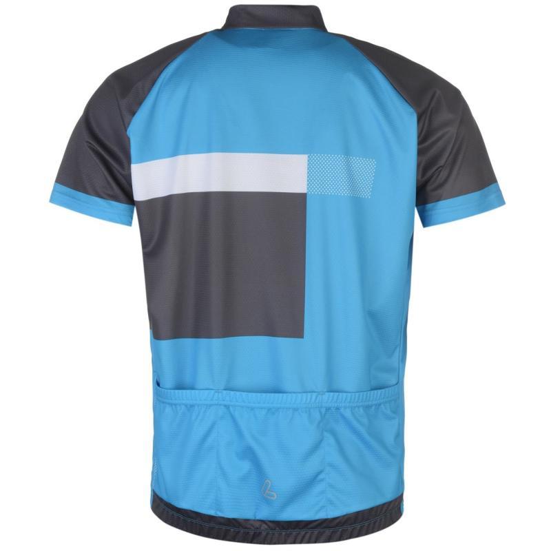 Tričko Löffler Cycle Jersey Mens Blue/Black
