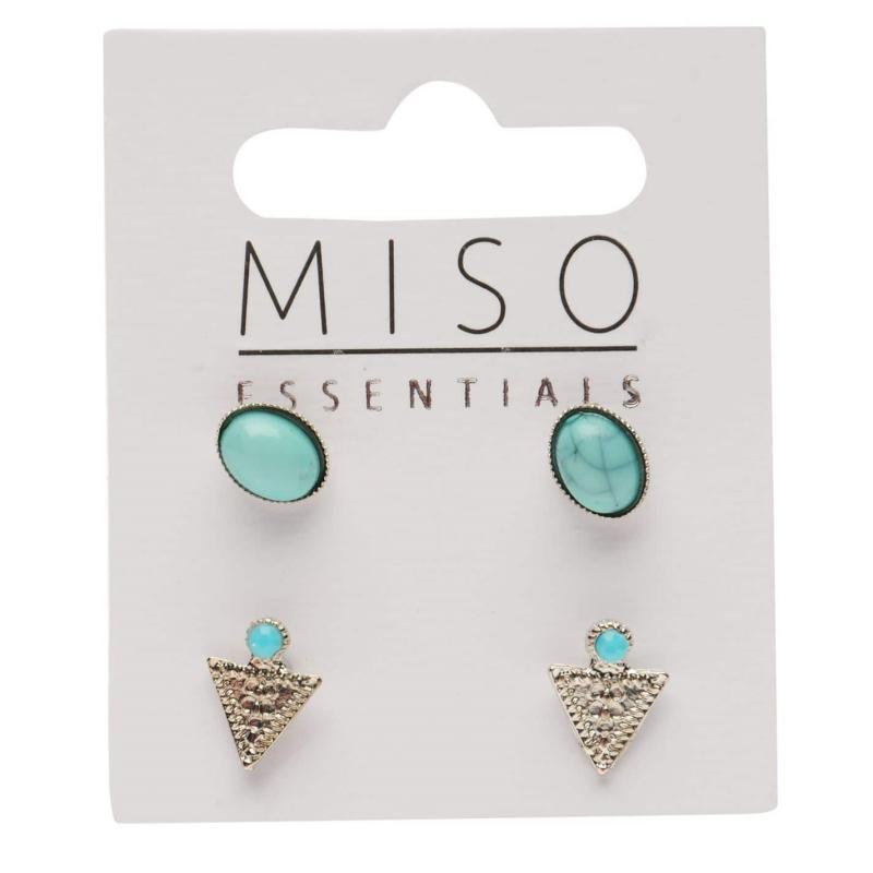 Miso Earring Set Ladies Diam x6 Pack