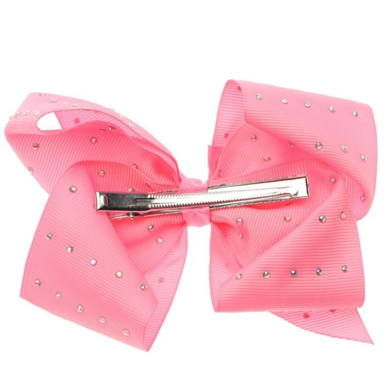 Miso MiMi Hair Bow Junior Girls Dark Pink
