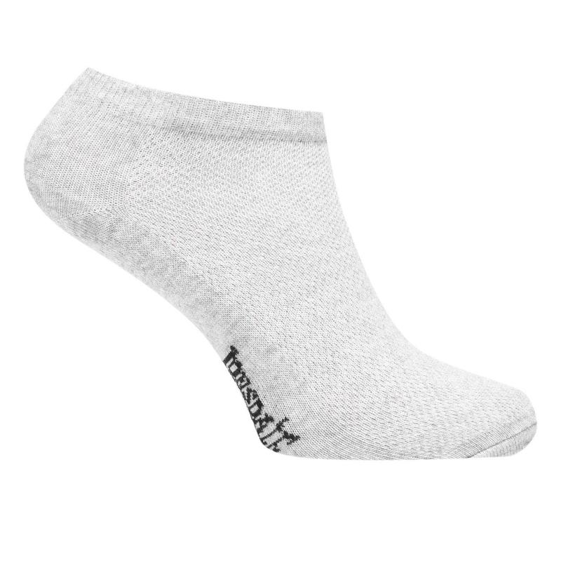 Ponožky Lonsdale 5 Pack Trainer Socks Mens Multi