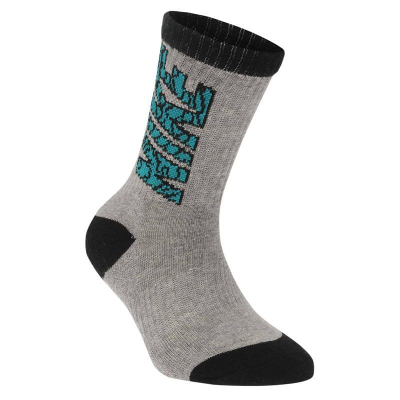 Ponožky Nike Buzz 3 Pack Socks Child Boys Bright Mandarin