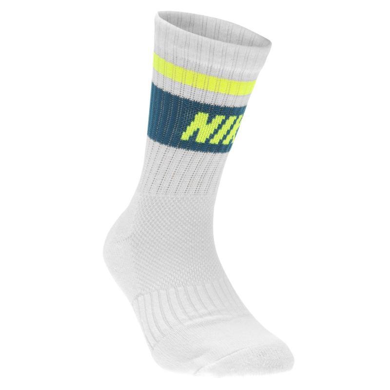 Ponožky Nike Fly 3 Pack Crew Socks Child Boys Orange