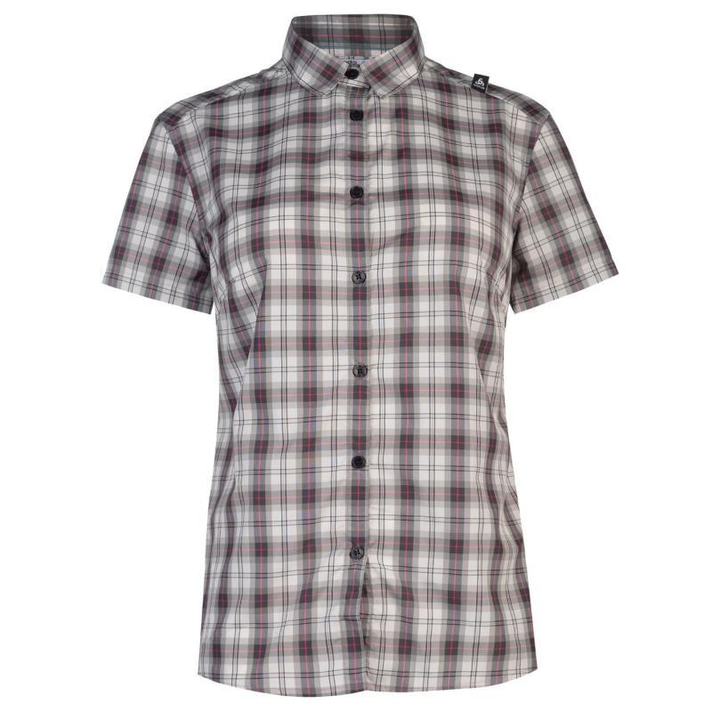 Košile Odlo Mythen Walking Shirt Ladies Green