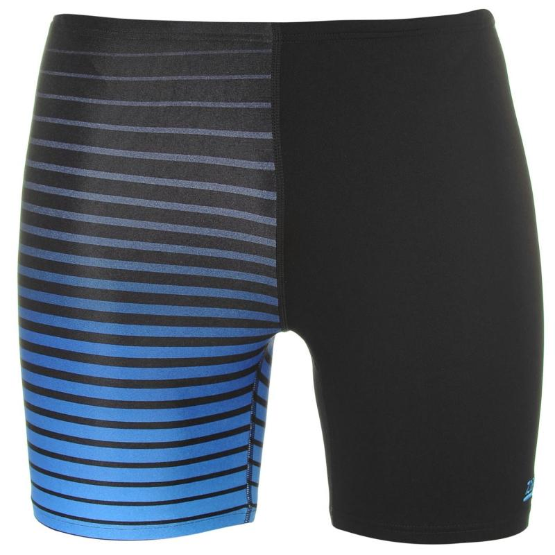 Plavky Zoggs Cairns Swimming Jammers Mens Black/Blue