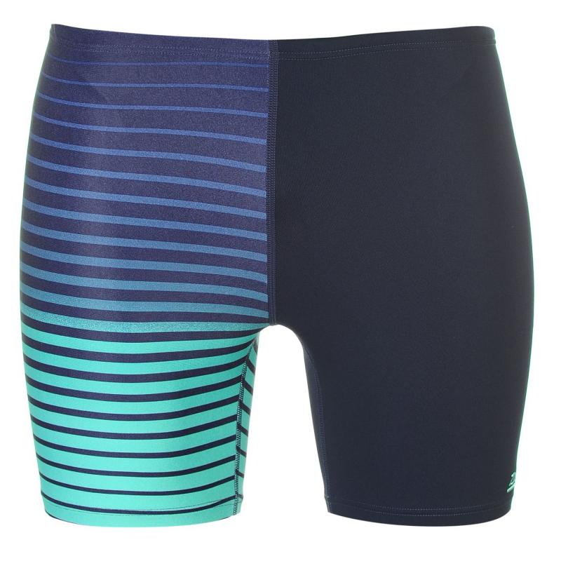 Plavky Zoggs Cairns Swimming Jammers Mens Black/Green