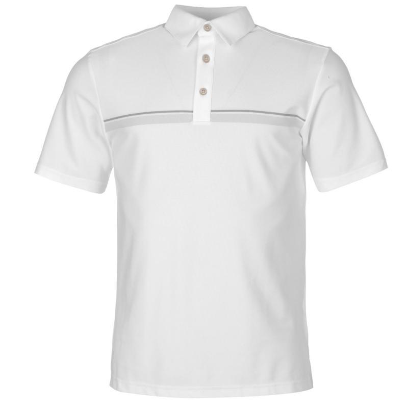 Ashworth Pique Polo Shirt Mens White