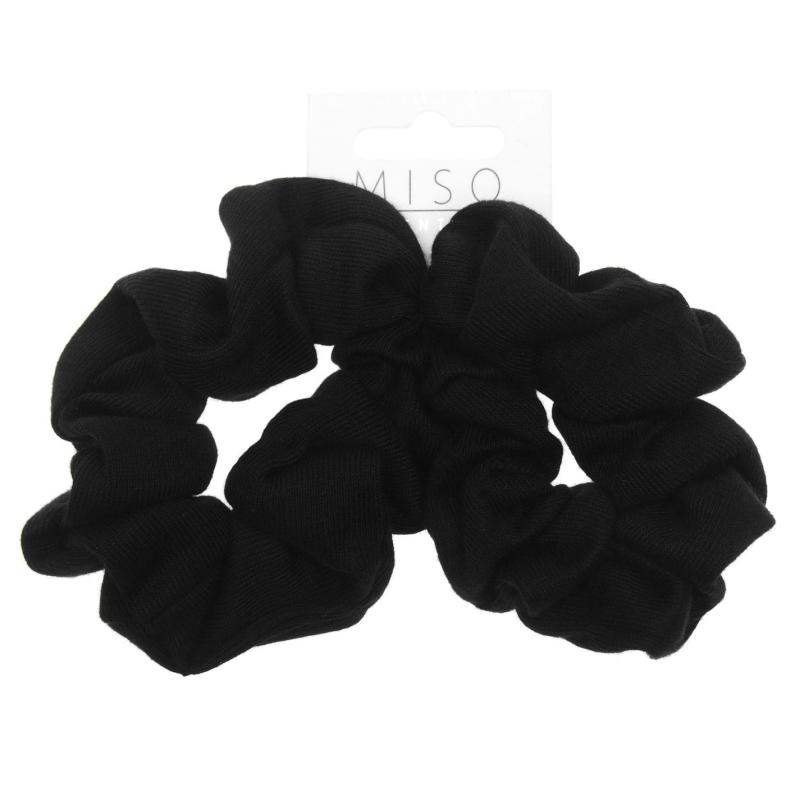 Miso Scrunchie Ladies Black