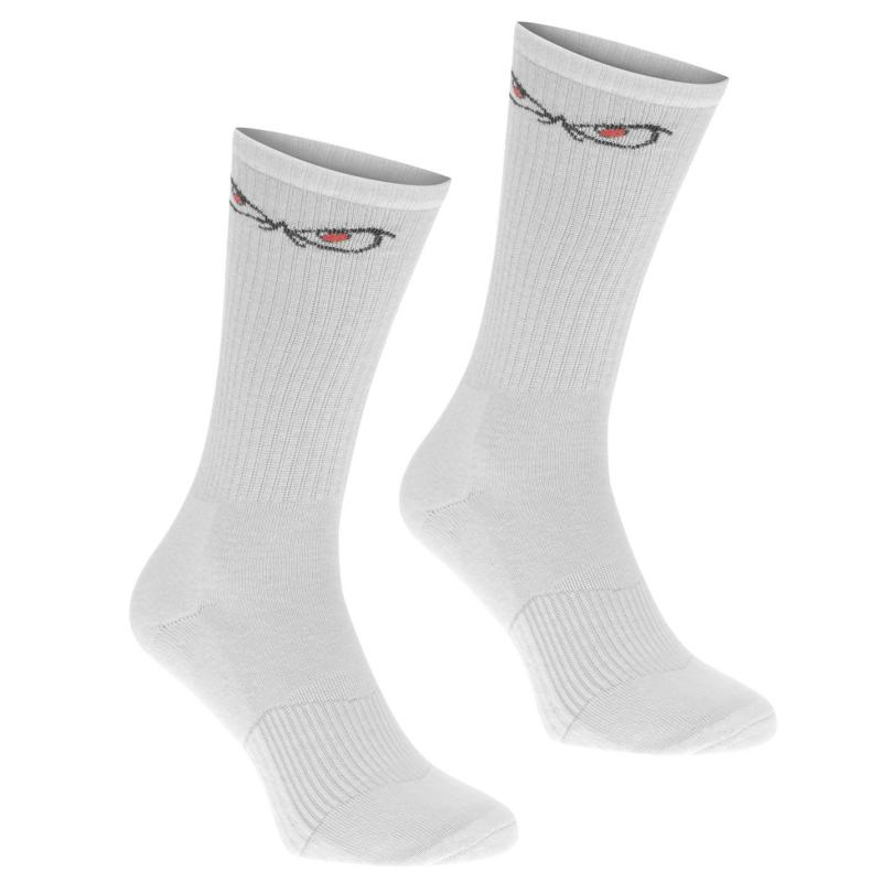 Ponožky No Fear Forever Eyes 2 Pack Socks White/Black
