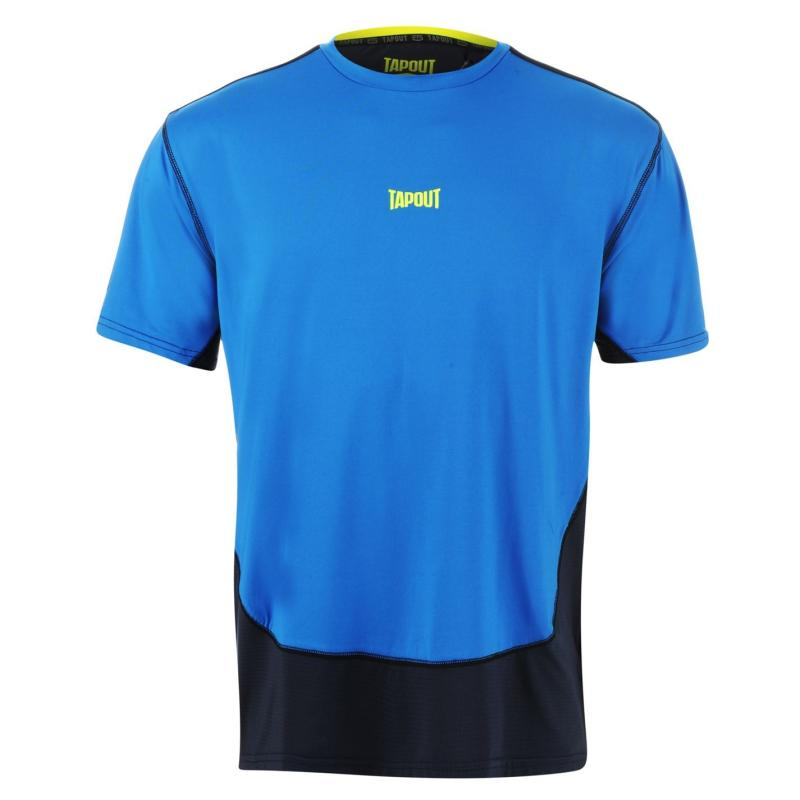 Tapout Two Tone T Shirt Mens Blue