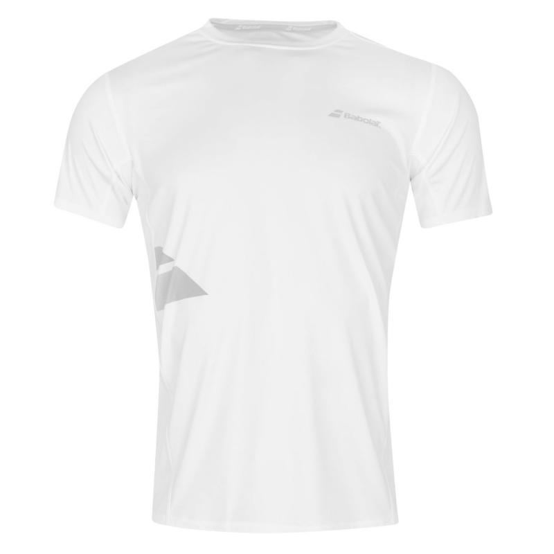 Tričko Babolat Flag Tennis T Shirt Mens White