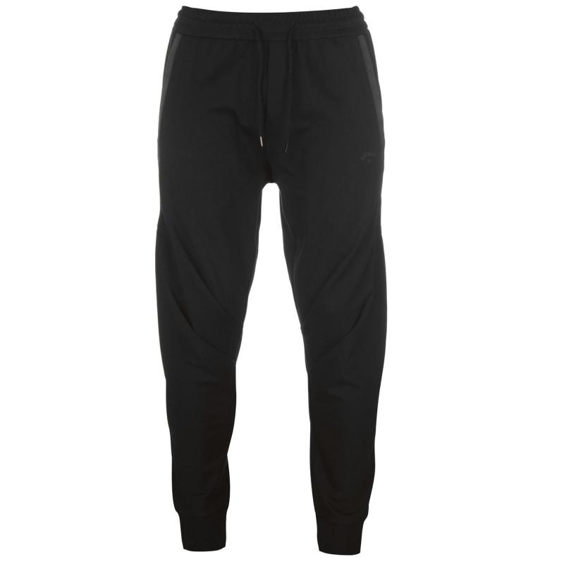 Tepláky Everlast Drape Jogging Bottoms Mens Black