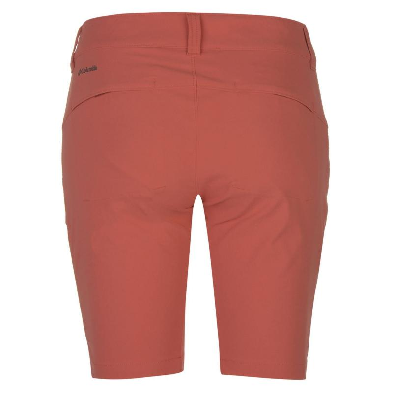 Columbia Saturday Trail Long Shorts Ladies Coral