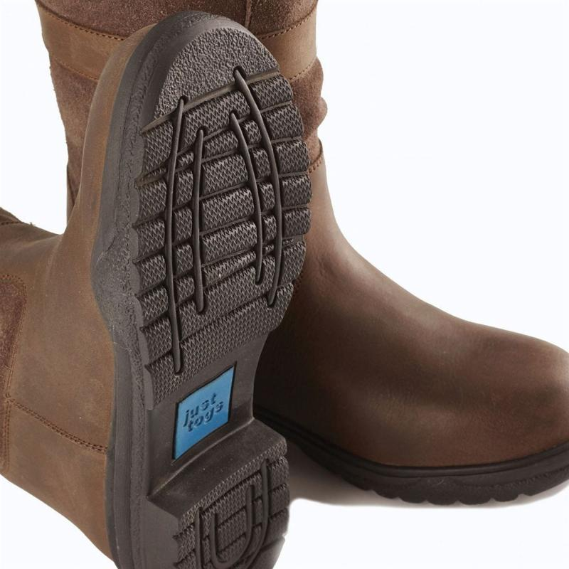 Just Togs Madison Country Boots Brown