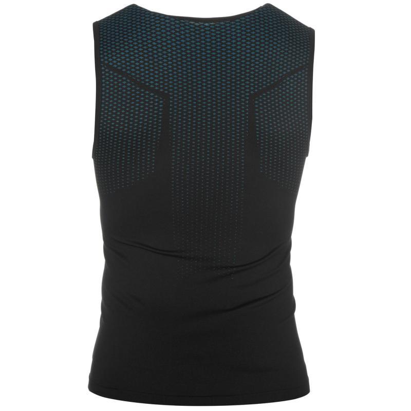 Tílko Odlo Essential Singlet Shirt Mens Black/Blue