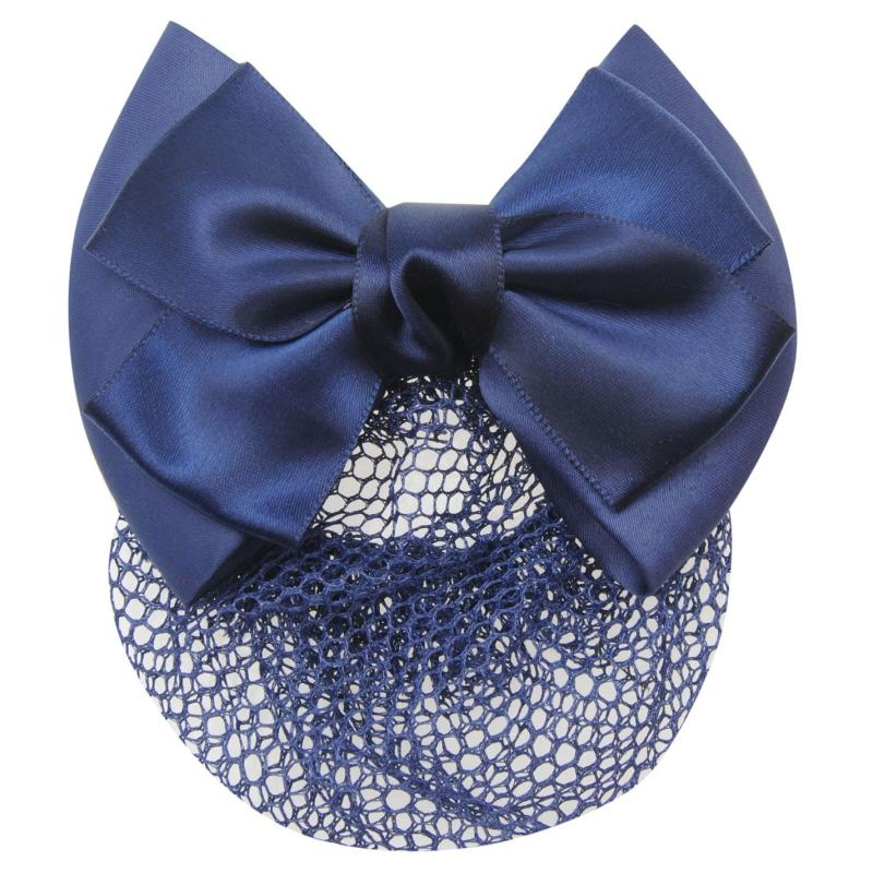 Requisite Bow Hairnet Navy