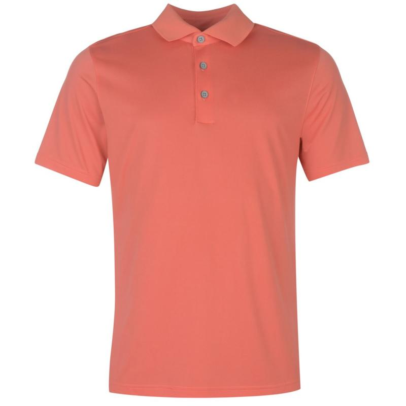 Ashworth Ez Tec Golf Polo Mens Orange
