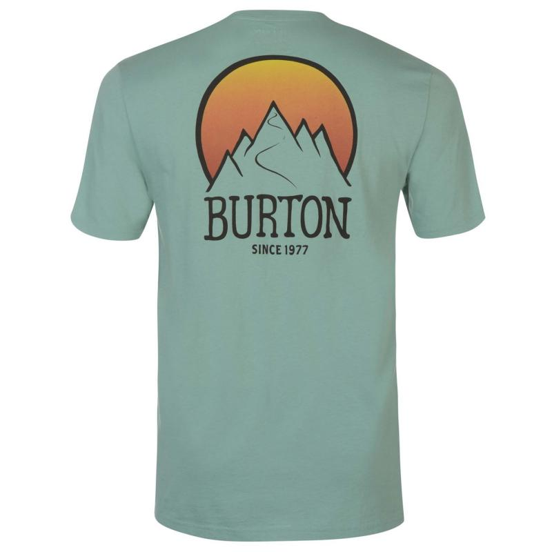 Tričko Burton Vista Tee Sn73 Green