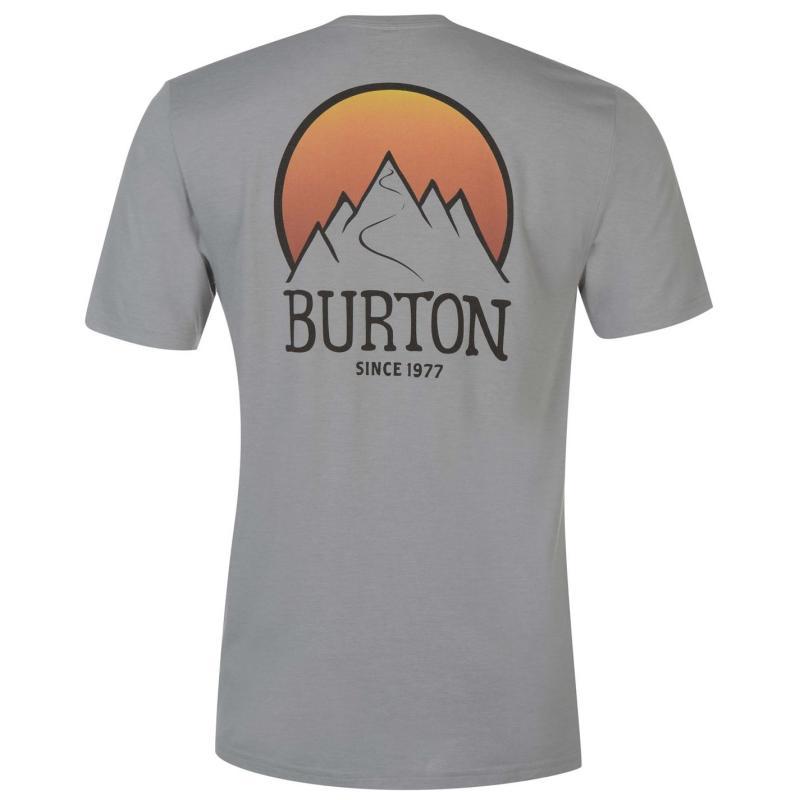 Tričko Burton Vista Tee Sn73 Grey