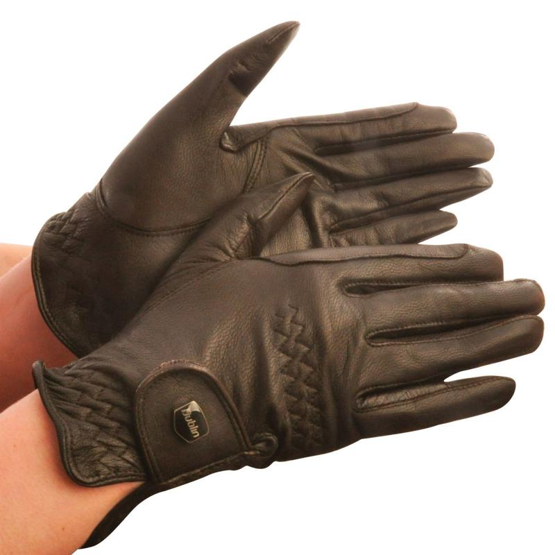 Dublin Show Gloves Dark Brown Velikost - 16 (XL)