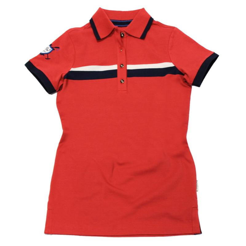 Polokošile Horseware Chloe Polo Watermelon Red