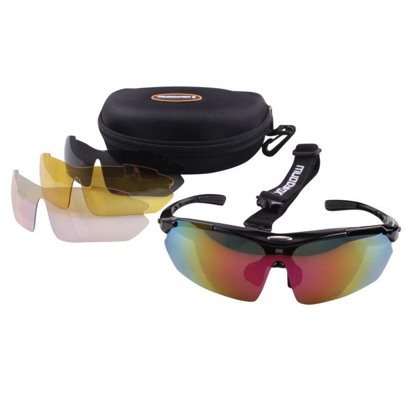 Muddyfox Sunglasses 200 Mens Black