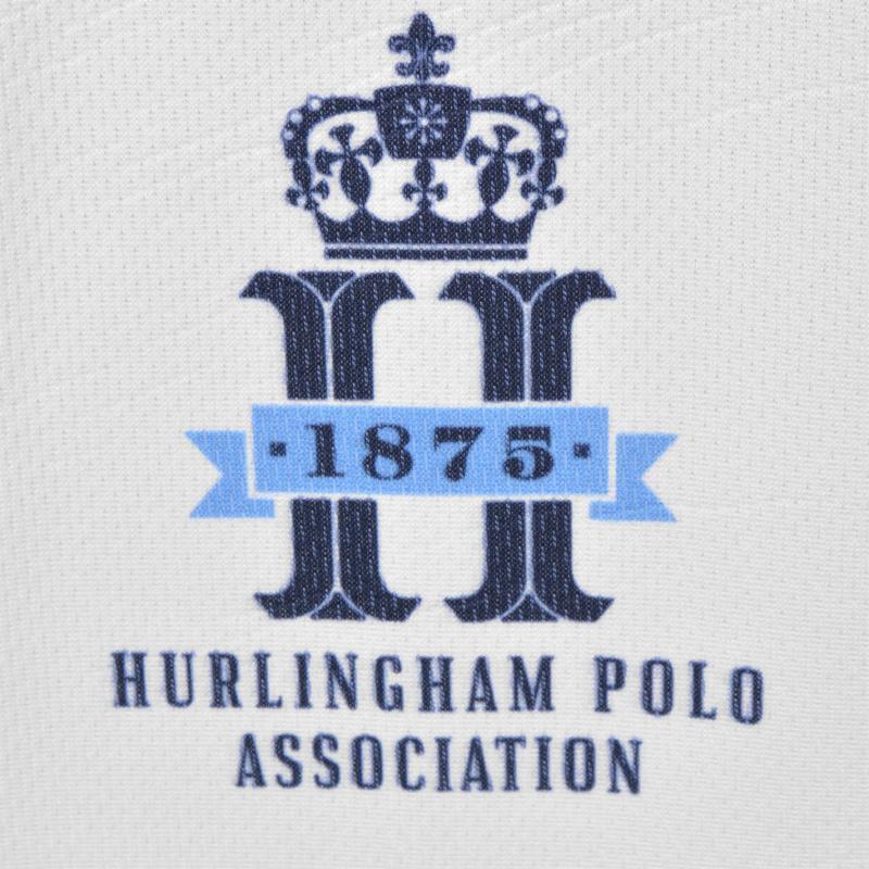 Hurlingham Polo 1875 Playing Polo Shirt White