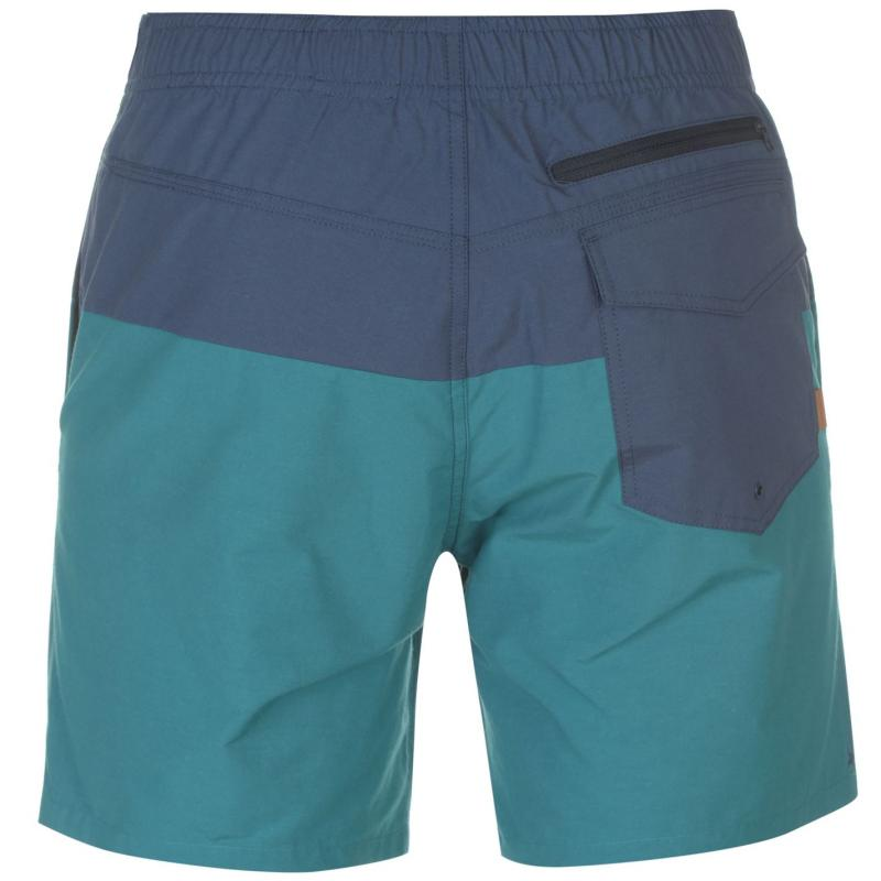 Burton Creeks Shorts Mens Blue/Green