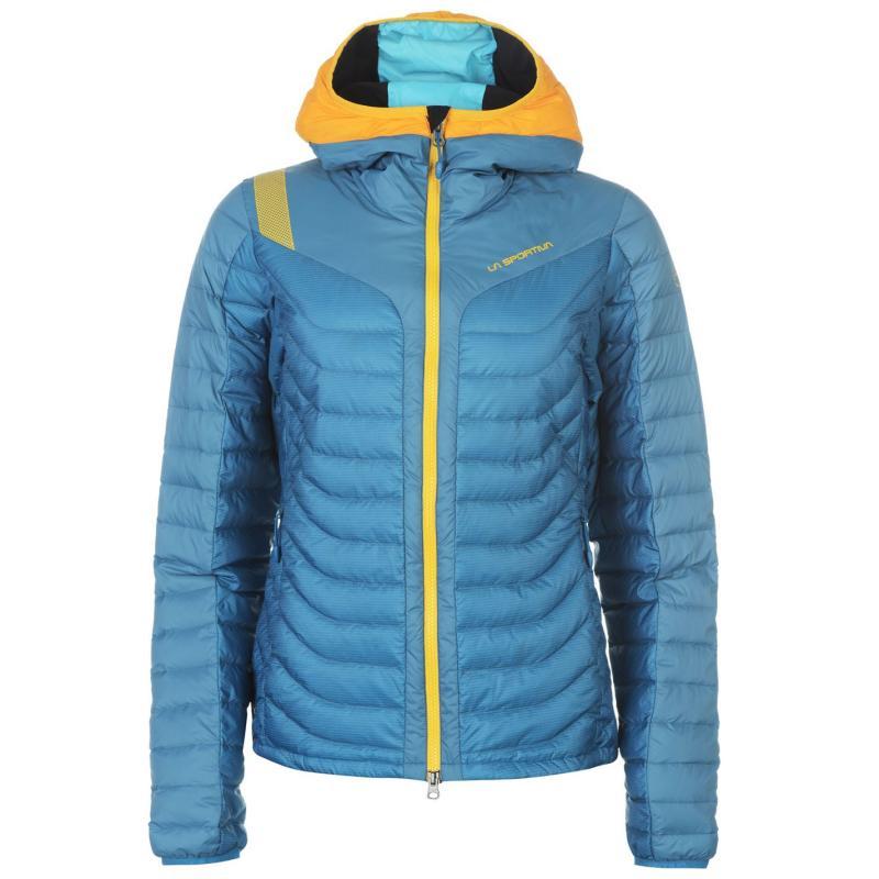 La Sportiva Universe Jacket Ladies Fjord-Papaya