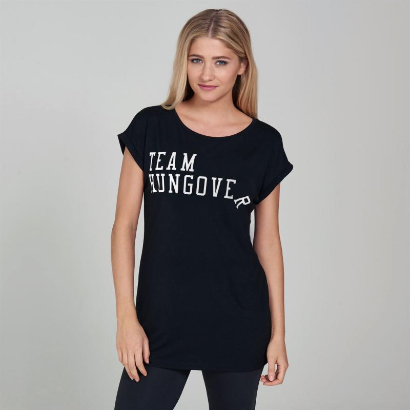 SportFX Slogan T Shirt Black Vodka