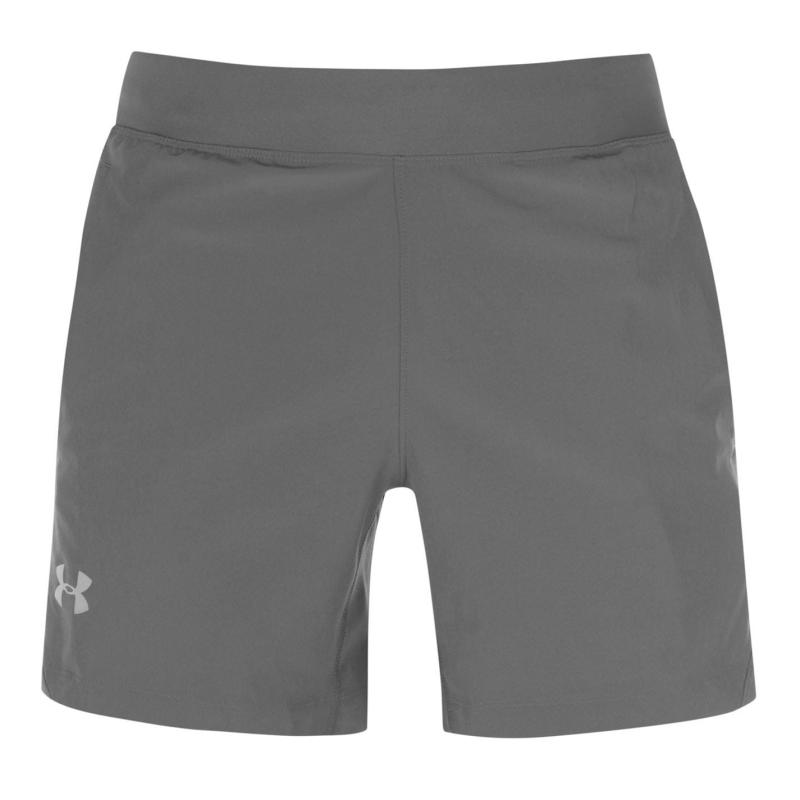 Under Armour Speed 2 in1 Shorts Mens Grey/Reflect