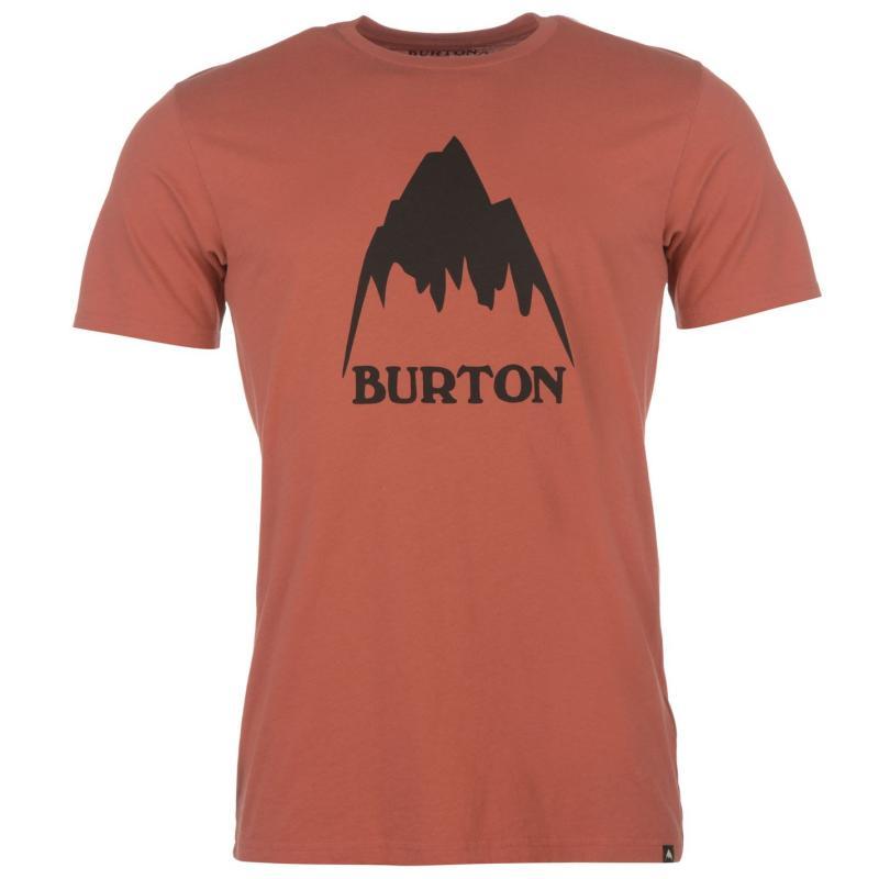 Tričko Burton Classic Tee Burgundy