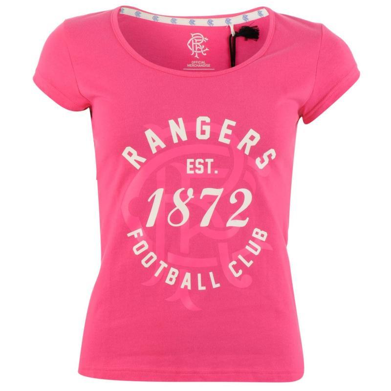 Team FC 1872 T Shirt Ladies Pink
