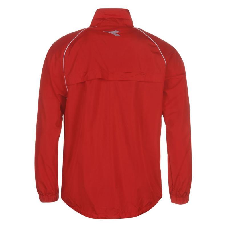 Diadora Madrid Jacket Mens Red