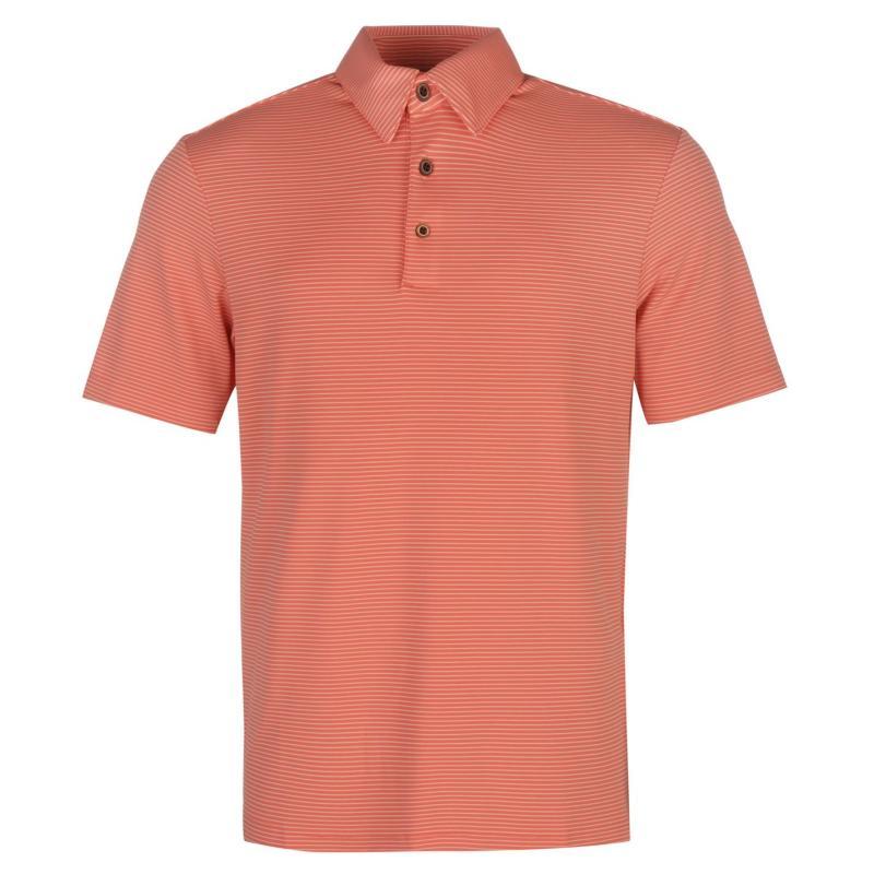 Ashworth Performance Golf Polo Shirt Mens Medium Green