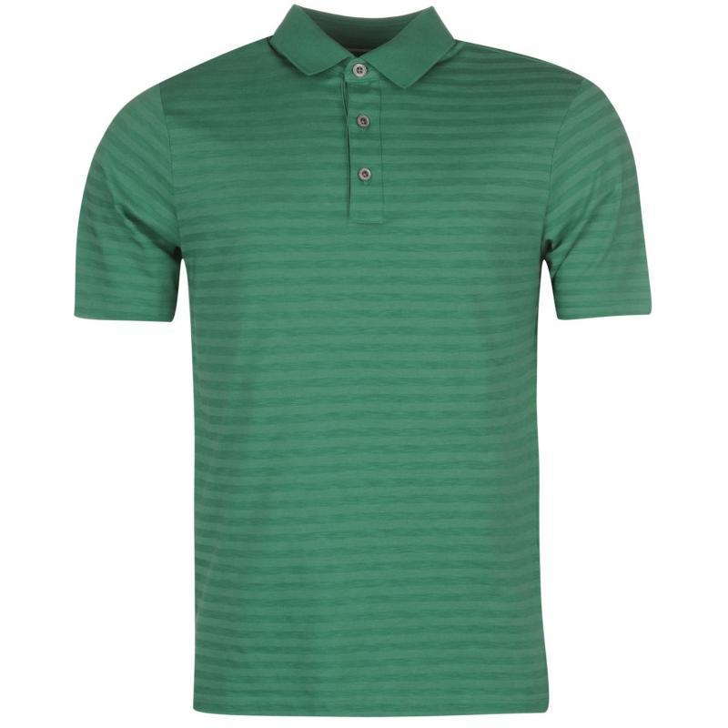 Ashworth Slub Golf Polo Shirt Mens Navy