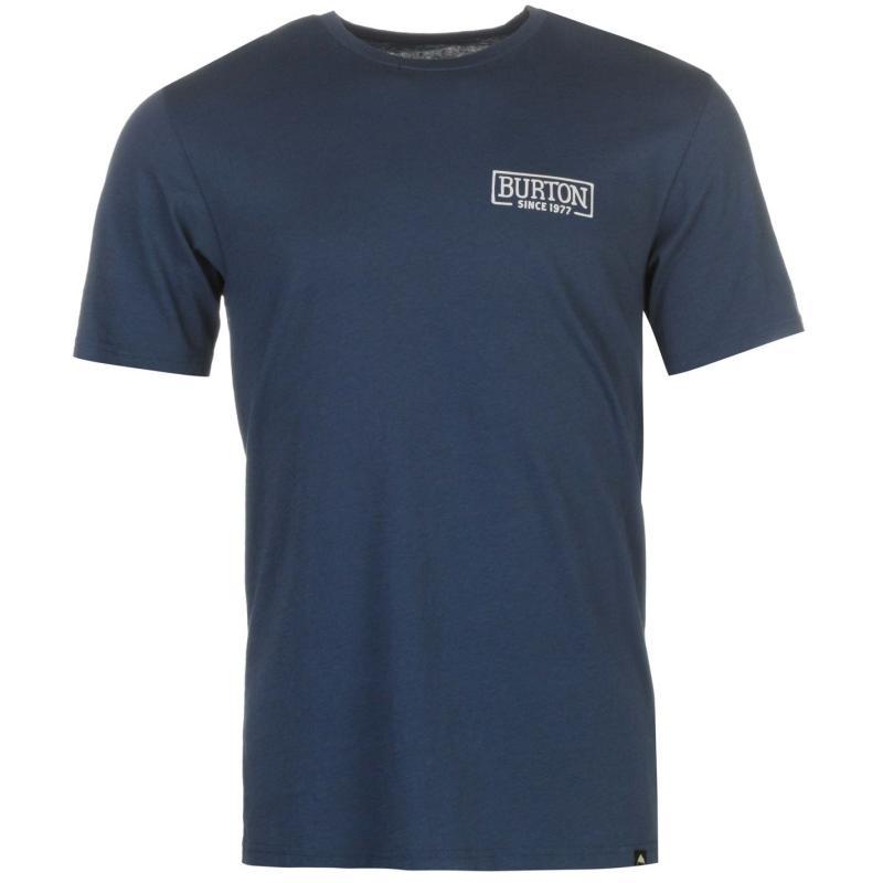 Tričko Burton Vista T Shirt Mens Blue