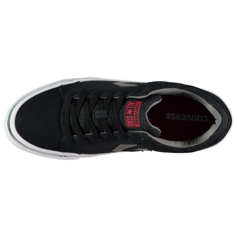 CONS Distrito Ripstop Trainers Black/Charcoal