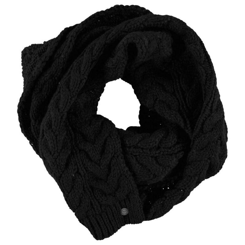 SoulCal Vesna Scarf Ladies Black