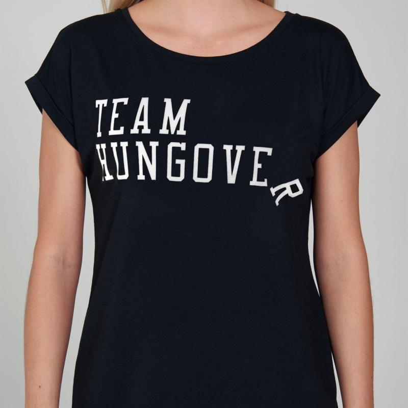 SportFX Slogan T Shirt Black Hungover
