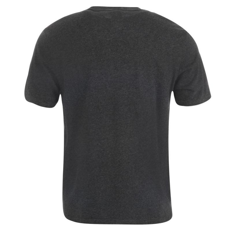 Tričko NUFC Newcastle United Graphic T Shirt Mens Charcoal Marl
