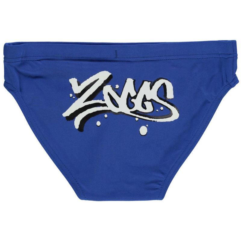 Plavky Zoggs Akuna Racer Trunks Junior Boys Blue