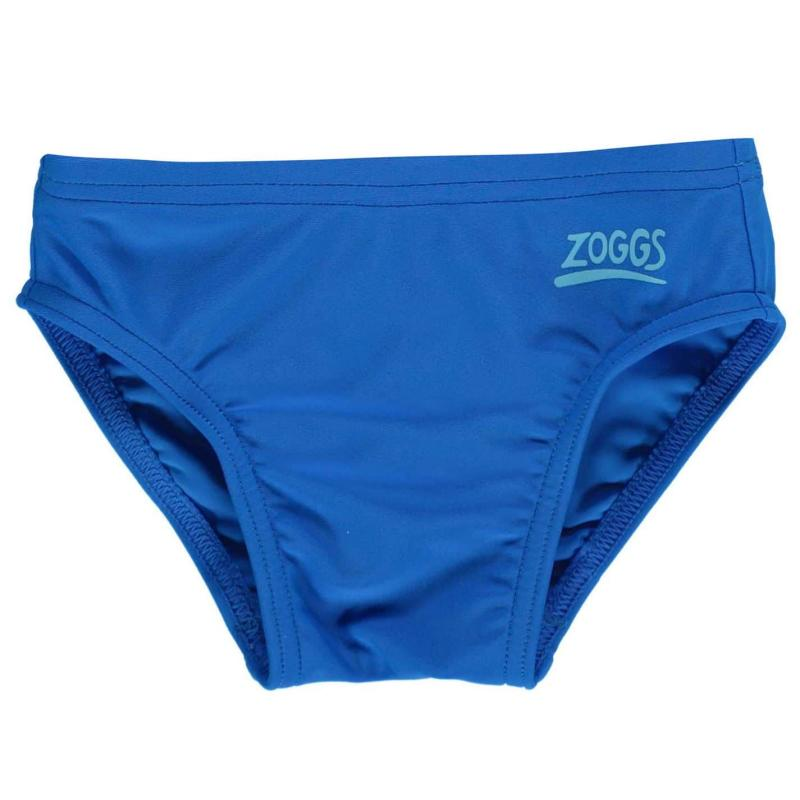 Plavky Zoggs Zoggy Racer Trunks Junior Boys Blue