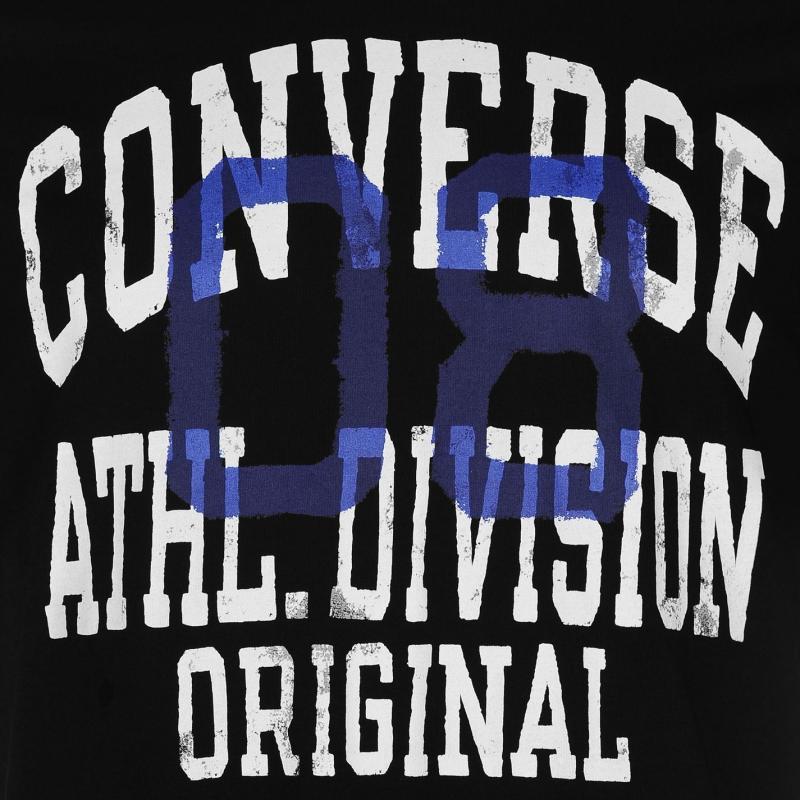 Tričko Converse Athletic T Shirt Black