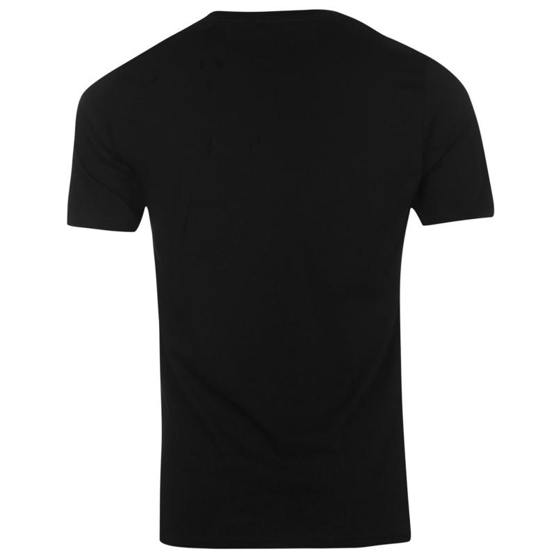 Tričko Converse Athletic T Shirt Black