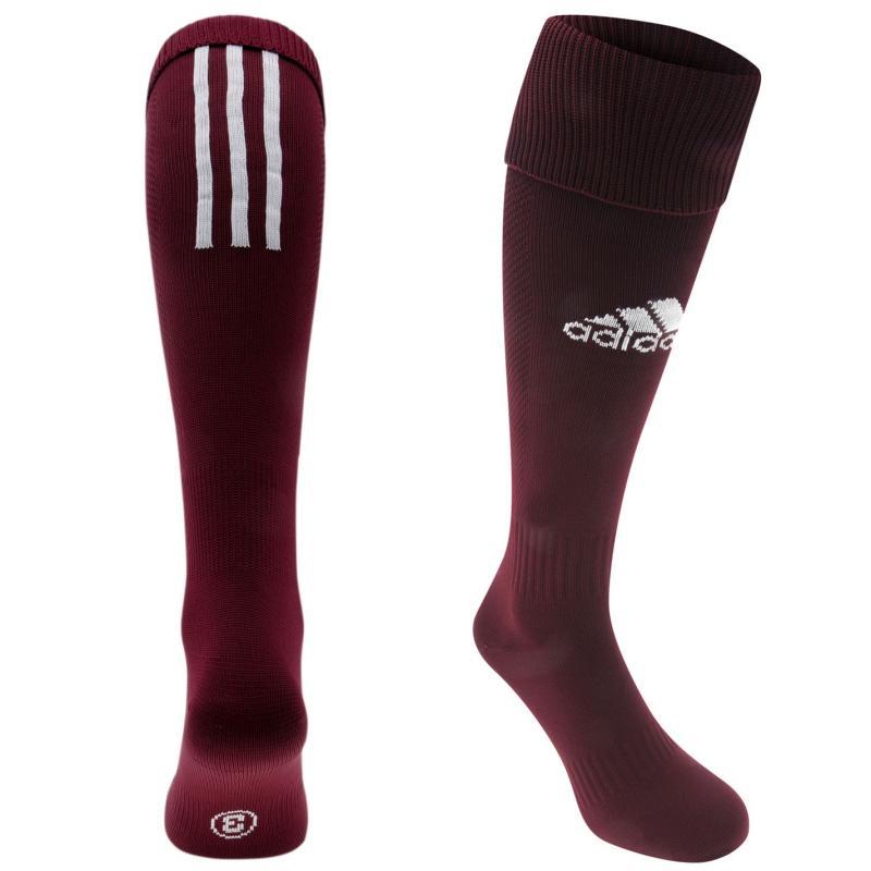 Ponožky adidas Football Santos 18 Knee Socks Maroon
