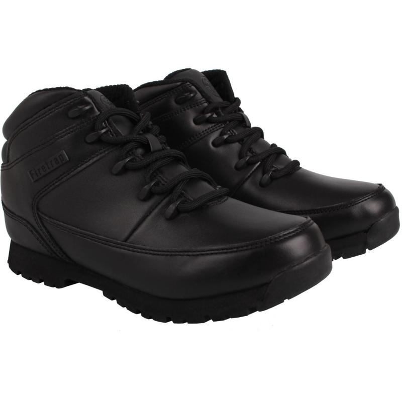 Boty Firetrap Rhino Boots Black/Black