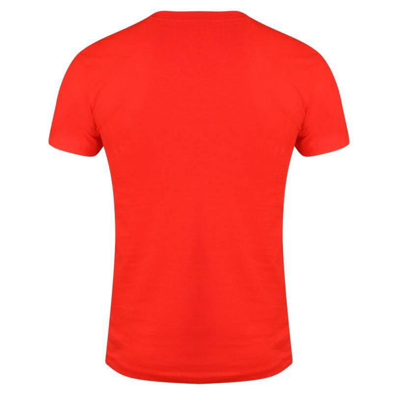 Tričko Golds Gym Gym Muscle Tee Sn73 Red